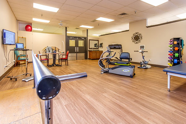 South Shore Health & Rehabilitation Center - Gary, IN - Therapy Gym